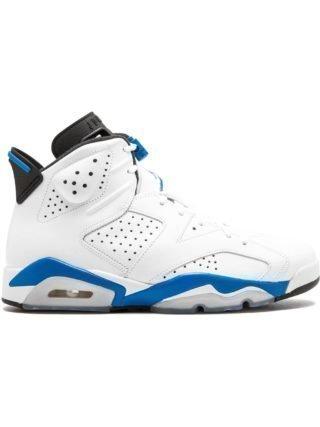 Jordan Air Jordan 6 Retro sneakers - White/Sport Blue-Black