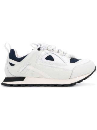 Maison Margiela geperforeerde vetersneakers (wit)