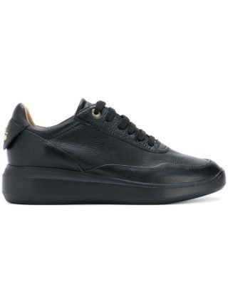Geox classic lace-up sneakers (zwart)