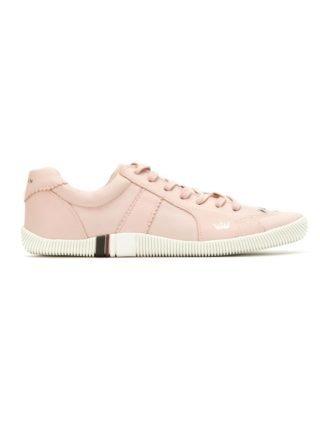 Osklen panelled leather sneakers (roze)
