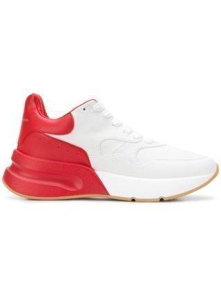Alexander McQueen Oversized Runner sneakers - Wit