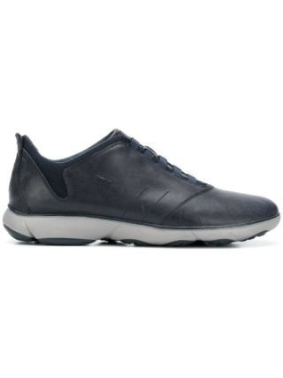 Geox classic lace-up sneakers (blauw)