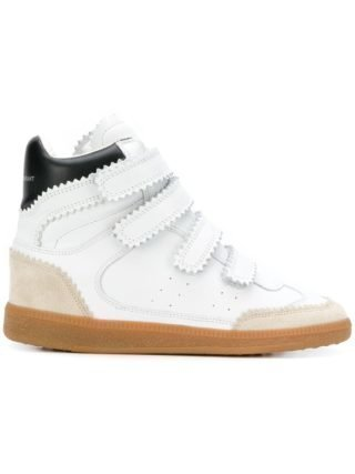 Isabel Marant Bilsy high-top sneakers - Wit