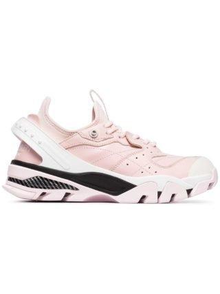 Calvin Klein 205W39nyc Carla sneakers van leer (roze)