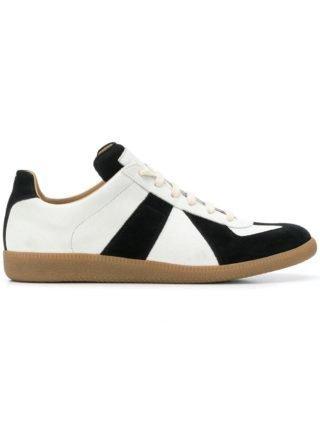 Maison Margiela colour block sneakers (zwart)