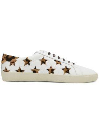 Saint Laurent Court Klassieke sneakers met ster (wit)