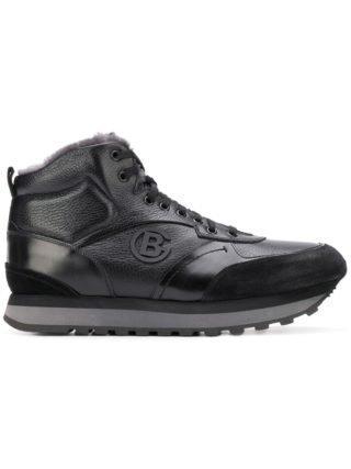 Baldinini Hi-top sneakers met veters (zwart)