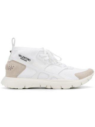 Valentino Valentino Garavani Sound hoge sneakers (wit)