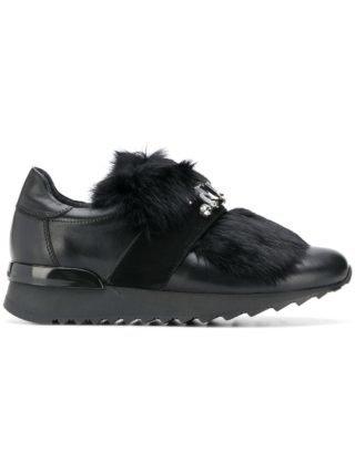 Baldinini versierde Lsneakers (zwart)
