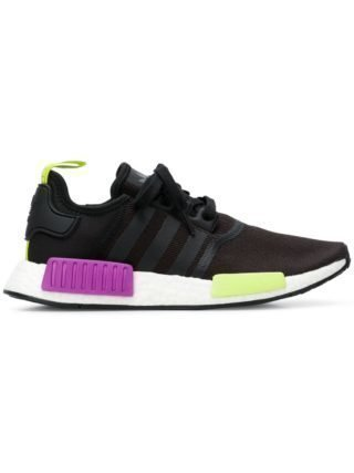 Adidas NMD R1 neon sneakers - Zwart