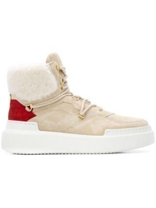 Buscemi high top lammy sneakers met manchetten (Overige kleuren)