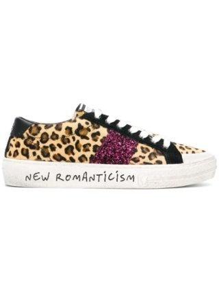 Moa Master Of Arts sneakers met luipaardprint (bruin)