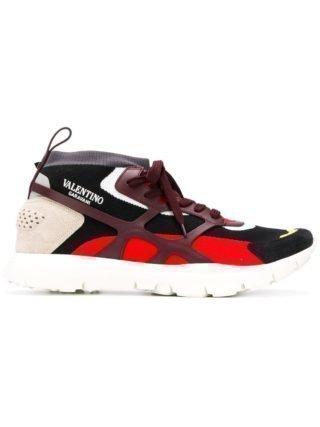 Valentino Valentino Garavani Sound hoge sneakers (zwart)