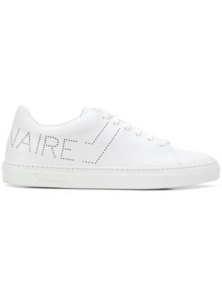 Billionaire perforated logo sneakers (wit)