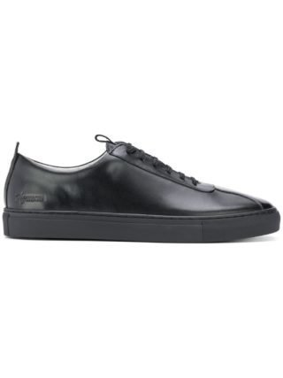 Grenson Oxford Lowtop sneakers (zwart)