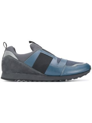 Trussardi Jeans instap sneakers (blauw)