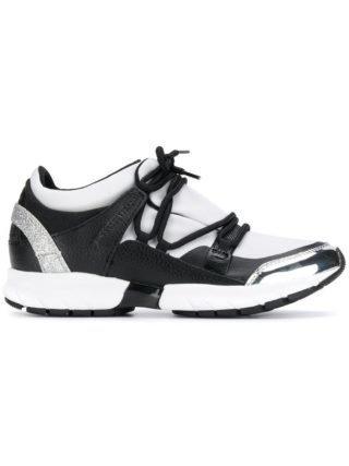 Trussardi Jeans sneakers met veters (wit)
