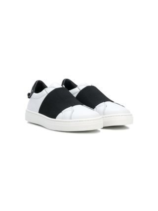 Givenchy Kids low top sneakers met logo (wit)