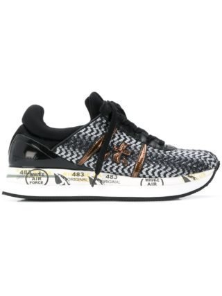 Premiata Liz sneakers (zwart)