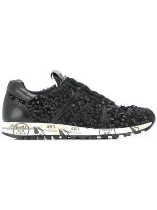 Premiata Lucy sneakers (zwart)