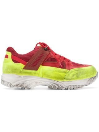 Maison Margiela Security Dirty Treatment l sneakers - Rood