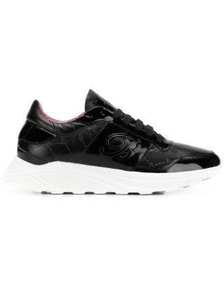 Blumarine logo sneakers (zwart)