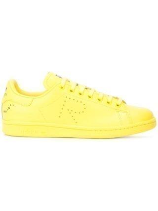Adidas By Raf Simons Stan Smith sneakers met R logo - Geel