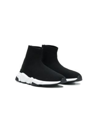 Balenciaga Kids Speed soksneakers (zwart)