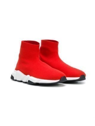 Balenciaga Kids Speed soksneakers (rood)