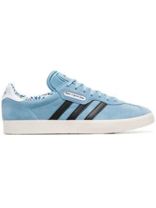 Adidas 'Have a Good Time' Gazelle sneakers van suède - Blauw