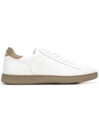 Rov sneakers met contrasterende zool (grijs)