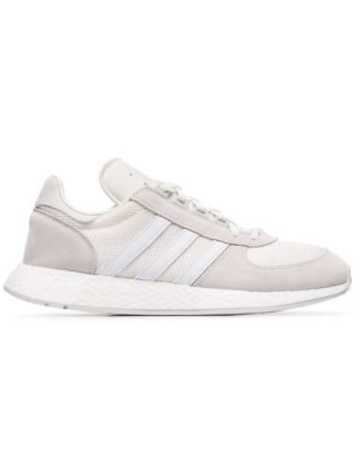 Adidas witte Never Made Marathon X5923 suède sneakers