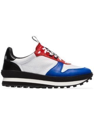 Givenchy wit rode TR3 leren hardloopsneakers (wit)