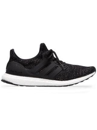 Adidas Ultraboost low-top sneakers in zwart/wit
