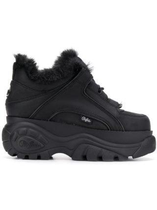 Buffalo Buffalo x Junya Watanabe sneakers met chunky zool (zwart)