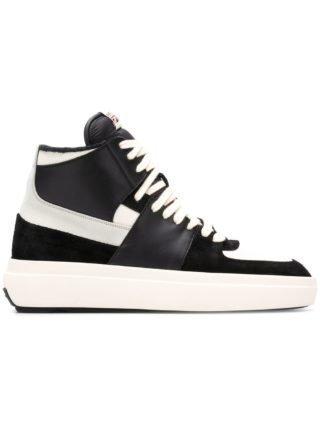 Represent hi-top sneakers (zwart)