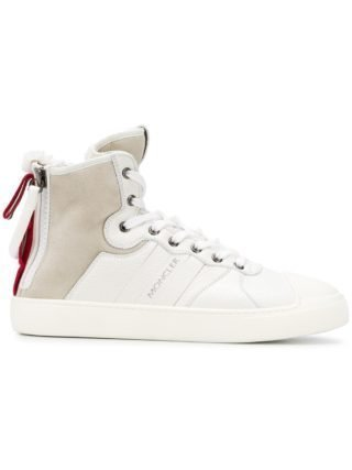 Moncler ankle lace-up sneakers (wit)