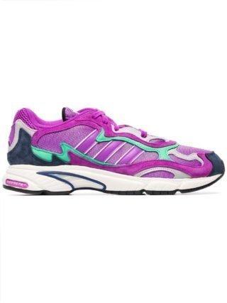 Adidas purple Temper Run suede sneakers - Paars