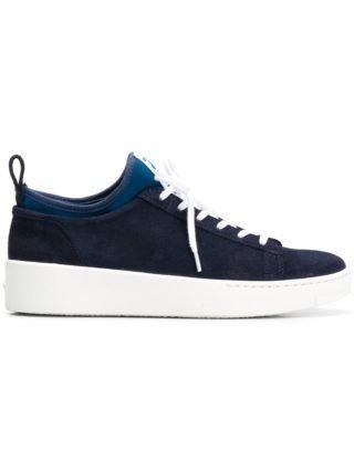 Kenzo logo patch sneakers (blauw)