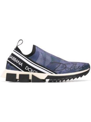 Dolce & Gabbana Branded Sorrento sneakers (blauw)