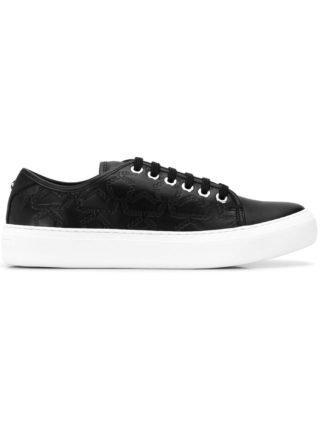 Jimmy Choo Aiden low top sneakers (zwart)