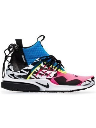Nike multicoloured Acronym x Presto leather sneakers