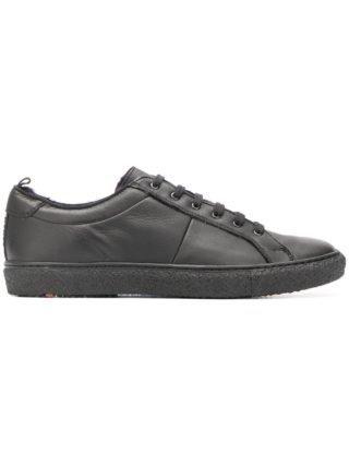 Lloyd low top sneakers (zwart)