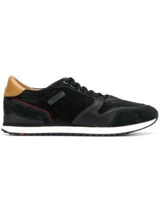 Lloyd Eden sneakers met veters (zwart)