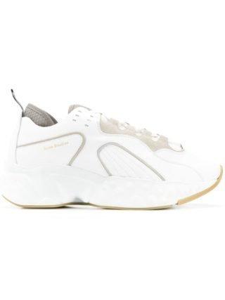Acne Studios Rockaway sneakers van leer - Wit