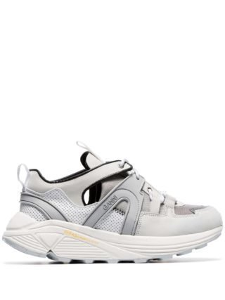 Ganni Brooklyn 45 suède sneakers (wit)