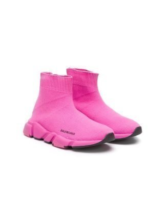Balenciaga Kids Speed soksneakers (roze)