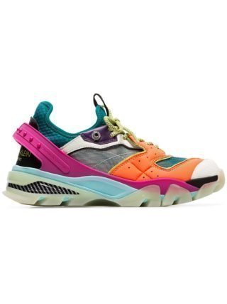 Calvin Klein 205W39nyc carla sneakers van mesh en leer (Overige kleuren)