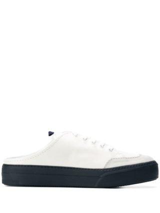 Sunnei Sneakers met contrast (blauw)