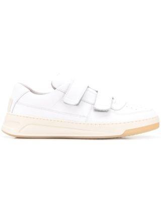 Acne Studios Perey sneakers met klittenband - Wit